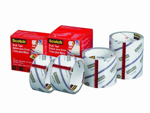 36mm x 13.7m x 15 yds. Model: 845 Office Product 3M 1.5 See-Through Book Repair Tape Size: 1-1//2 in