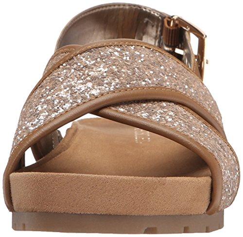 Aerosoler Kvinna Konkurrens Plattform Sandal Taupe Kombination