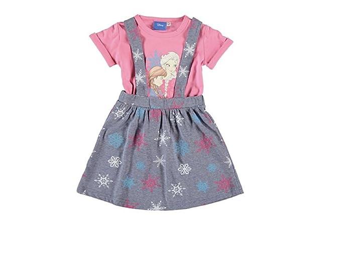 Disney - Vestido - Túnica - para niña Rosa 122 cm/128 cm-Ca