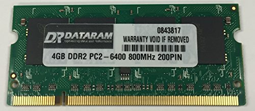 4GB DDR2 MEMORY MODULE FOR Toshiba Satellite L505D-S5965