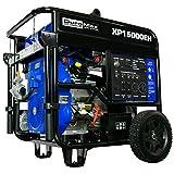 DuroMax XP15000EH 15000-Watt V-Twin Hybrid Electric Start Portable Generator