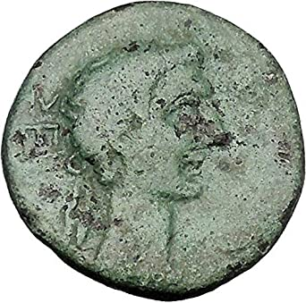 Greek (450 Bc-100 Ad) Augustus 27bc Thessaly Koinon Athena Authentic Ancient Roman Greek Coin Rare