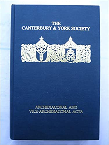 Como Descargar De Mejortorrent Twelfth-century English Archidiaconal And Vice-archidiaconal Acta Mobi A PDF