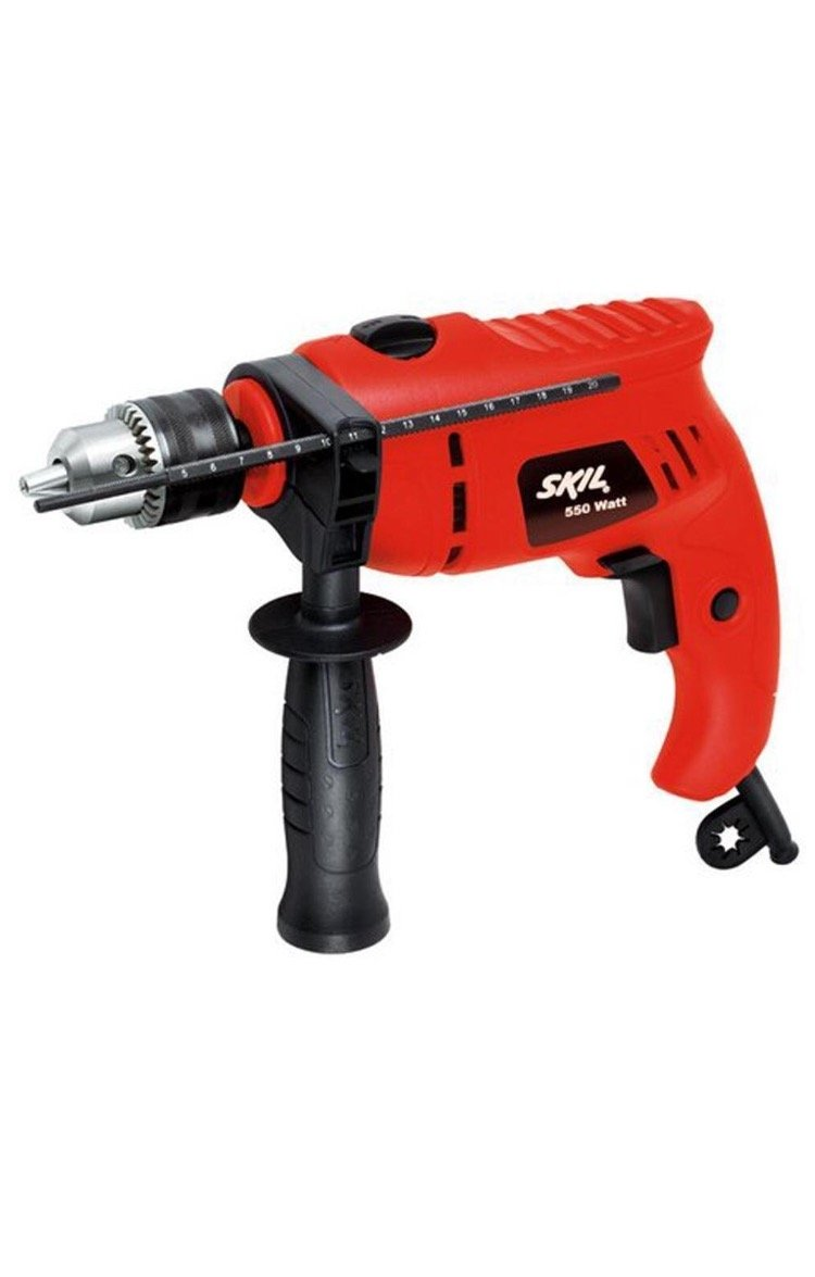 Skil 6513 550w 13 mm Impact Drill with variable speed,Reverse,hammering function product image