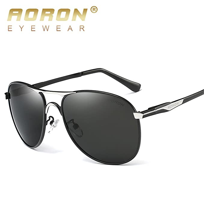 08abab2af243 Mens Polarized Sunglasses Driving Eyewear Sports Oval Lens HD New Wide  Frame Shades at Amazon Men's Clothing store: