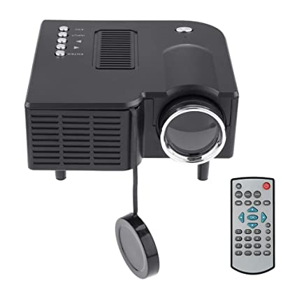 Amazon.com: QUARKJK Mini Portable 1080P HD Projector LED LCD ...