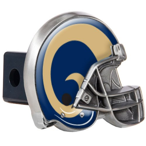 (NFL Los Angeles Rams Helmet Trailer Hitch Cover)