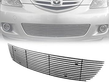 New Bumper Grille Black Front for Mazda 3 2007-2009 MA1036106 BS4N501T0C 4-Door
