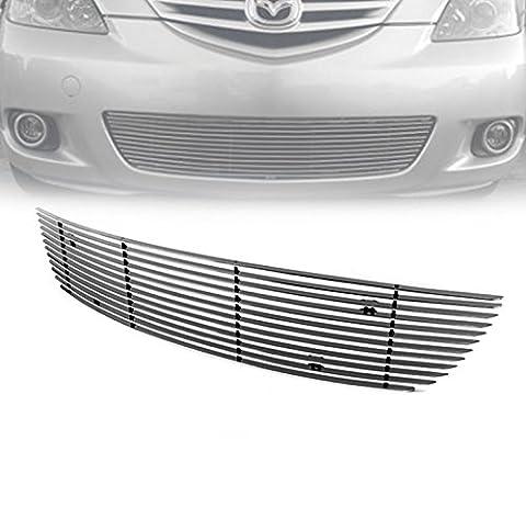 ZMAUTOPARTS Mazda 3 Sport Hatchback Front Bumper Lower Aluminum Billet Grille Grill
