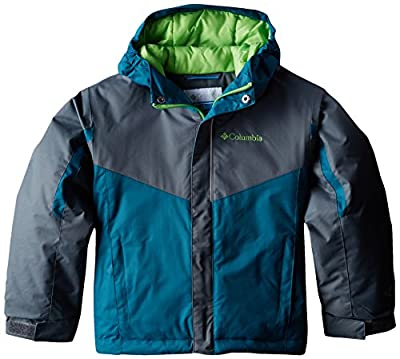 Columbia Boys Stun Run Insulated Hooded Winter Jacket