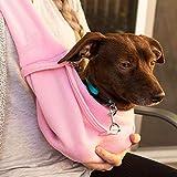 Dog and Cat Sling Carrier,Hands Free Shoulder Strap Adjustable Pet Puppy Outdoor Travel Bag