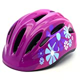Toys : M Merkapa Kids Bike Helmet Adjustable Bicycle Helmets for Toddler and Youth (Hot Pink, S)