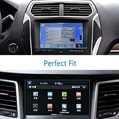 for Ford Navigation Display Screen Protector 8-Inch 2 Packs, TTCR-II Tempered Glass Screen Protector 6.88