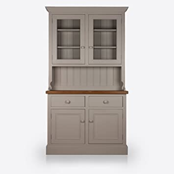 Attrayant Painted Kitchen Dresser | Handmade In Britain | Solid Wood | Glazed Top |  Two Door