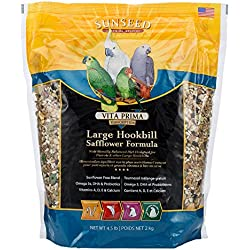 Sun Seed Company BSS49060 6-Pack Vita Prima Daily Diet Large Hookbill Food, 4.5-Pound