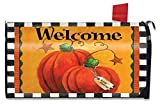 Briarwood Lane Pumpkin Autumn Welcome Large Mailbox Cover Primitive Oversized
