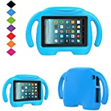 Fire 7 2017 Tablet Kids Case-TIRIN Smart Light Weight Shock Proof Handle Stand Protective Kids case for All New Fire 7 Tablet (7th Generation, 2017 Release), Blue