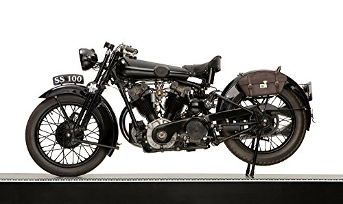 Posterazzi PPI170351 1931 Brough Superior SS100 JAP engine motorcycle Poster Print 12 x 20