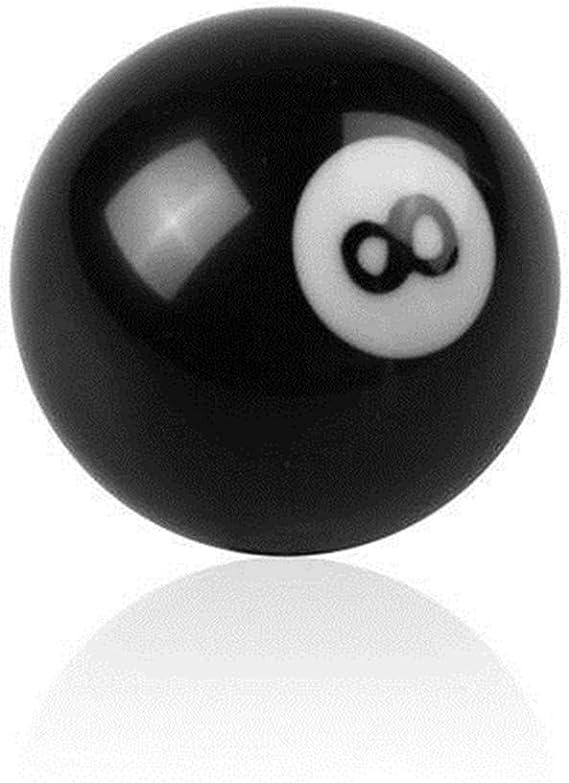 8 bolas de billar redondo manual palanca de cambio de marchas pomo ...