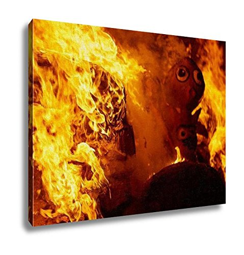 Ashley Canvas, Fallas Fire Burning In Valencia Fest At March 19 Th Spain Tradition, Home Decoration Office, Ready to Hang, 20x25, AG6535501 by Ashley Canvas