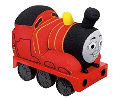 Thomas The Train Rolling James Plush from Fisher Price