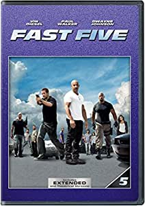 NEW Fast Five (DVD)