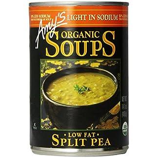 Low Sodium Split Pea Soup by Amy's Kitchen, 14.1 oz