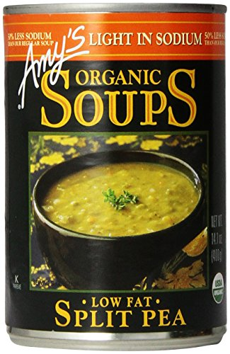 Low Sodium Split Pea Soup by Amy's Kitchen, 14.1 oz