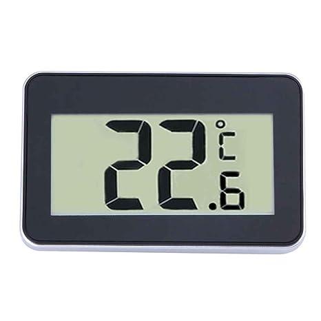Uzinb Nevera Digital Colgante Termómetro Impermeable Congelador habitación Medidor de Temperatura Helada Advertencia - 20 ℃