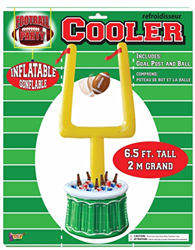 Inflatable Football Goal Post (Inflatable Goal Post Drink Cooler Football Tailgate Party Touchdown Snack Serving)