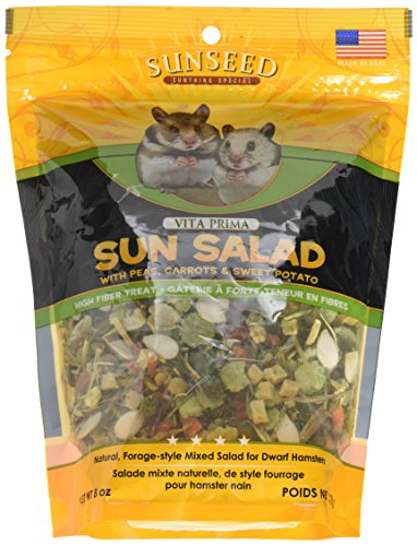 (Vitakraft Vita Prima Sun Salad Treat for Dwarf Hamsters 8 oz.)
