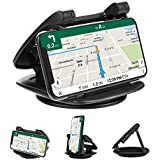 Cell Phone Holder for Car Dashboard, iVoler 360° Rotate Strong Sticky Gel Premium 3M Dashboard Car Mount Cradle Compatible iPhone Xs Max XR X 6S 7 8 Plus Samsung Galaxy Note 9 S8/S9 Pixel Vehicle GPS