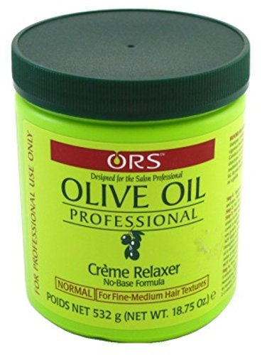 Ors Olive Oil Creme Relaxer Normal 18.75oz Jar (3 Pack) -