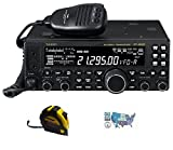 yaesu 450 - Bundle - 3 Items - Includes Yaesu FT-450D Base Station Radio 100W HF/6M with the New Radiowavz Antenna Tape (2m - 30m) and HAM Guides Quick Reference Card
