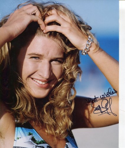 * STEFFI GRAF * gorgeous swimsuit signed 8x10 photo / UACC RD # 212