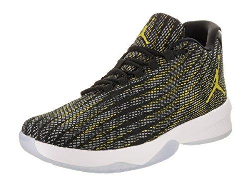 Nike Air Jordan B.Fly Mens Hi Top Basketball Trainers 881444 Sneakers Shoes (UK 9.5 US 10.5 EU 44.5, Black Yellow Wolf Grey 014)