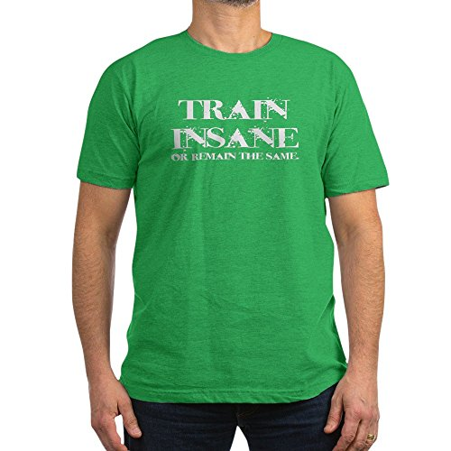CafePress Train Insane T-Shirt - Men's Fitted T-Shirt, Stylish Printed Vintage Fit T-Shirt
