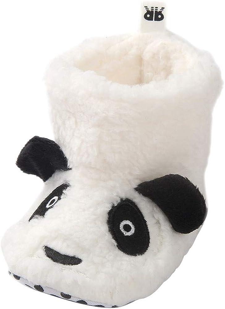 LACOFIA Baby Jungen M/ädchen Weiche Sohle Winter Stiefel Warme Krabbelschuhe