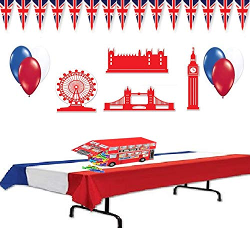 Multiple British (Union Jack) Decorations (Party Supplies) for $<!--$22.25-->
