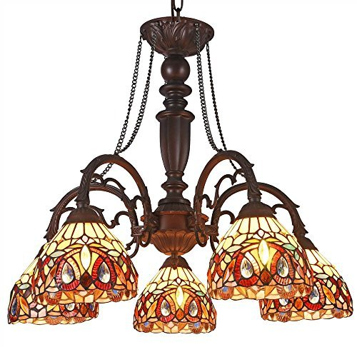 (Serenity 5-Light Large Chandelier)