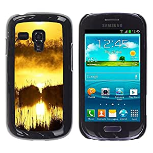 """For Samsung Galaxy S3 MINI ( NOT for regular S3 , S-type Sunset Beautiful Nature 100"""" - Arte & diseño plástico duro Fundas Cover Cubre Hard Case Cover"""