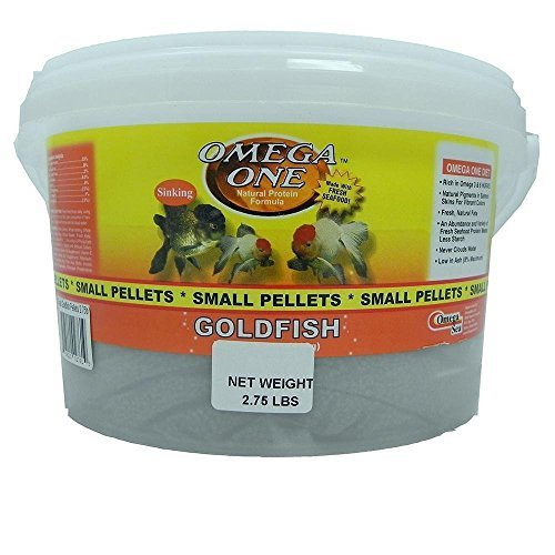 (Omega One Small Sinking Goldfish Pellets Fish Food)