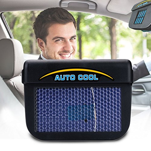 LISRUI Vehicle Window Fan Solar Energy Fan Solar Energy Solar Energy Solar Energy