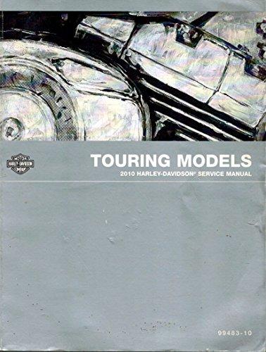 2010 Harley-davidson Touring Models Service Manual 99483-10