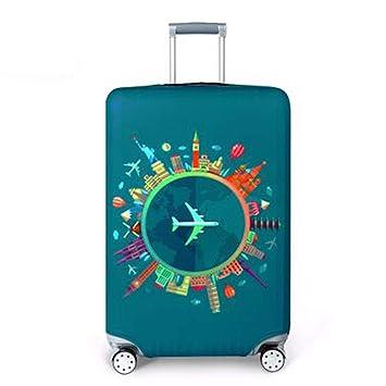 housesweet - Funda protectora para maleta de viaje, con cremallera, para maletas de 46 a 81 cm small Color1: Amazon.es: Hogar