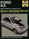 Ford Ka Service and Repair Manual: 2003 to 2008 (Service & repair manuals) by M. R. Storey (12-Sep-2014) Hardcover