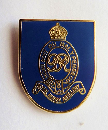 1000 Flags British Army Royal Horse Artillery Pin Badge - MOD Approved ()