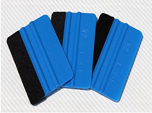ETbotu 3M Wiper Scraper Window Wash Tools Squeegee 3D Carbon Fiber Vinyl Film Wrap Tool Car Sticker Styling Tools Water