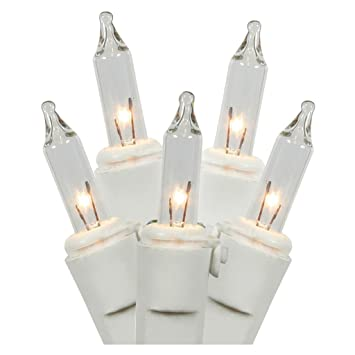 Battery Operated Mini Christmas Lights White