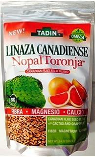 Tadin Linaza Canadiense Nopal Toronja 14 oz.